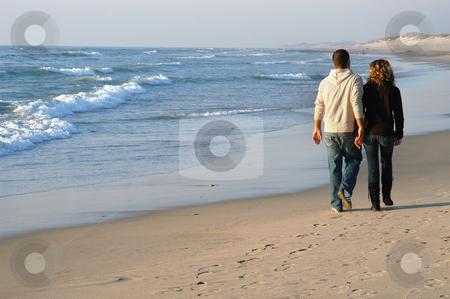 Life stock photo, Couple in the beach by Rui Vale de Sousa