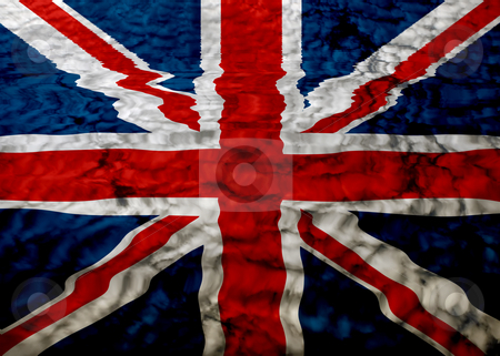 England stock photo, England flag ilustration among clouds, computer generated by Rui Vale de Sousa