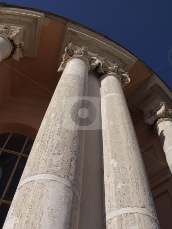 Columns stock photo, Columns of an acient building in rome by Matt Baker