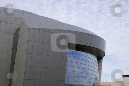 Interesting Building stock photo, A building with an interesting shape and design by Matt Baker