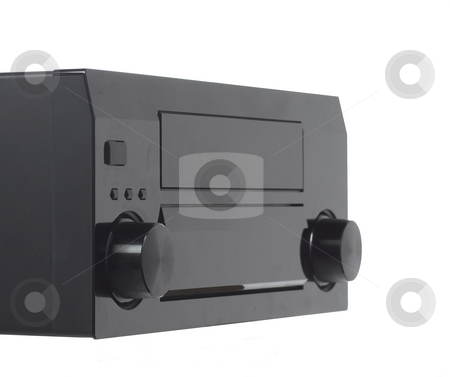 Stereo receiver stock photo, A generic stereo receiver by Matt Baker