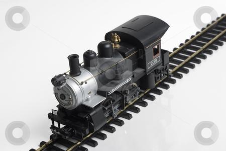 Train stock photo, Train on tracks by Matt Baker