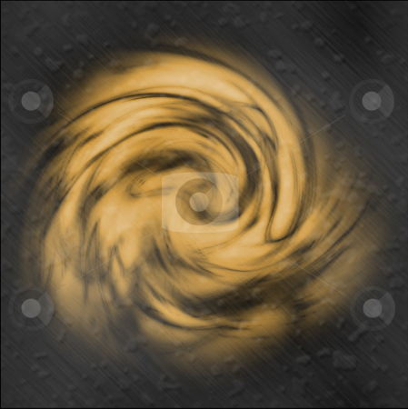 Abstract background stock photo, Yellow color patterns on a metal background by Matt Baker
