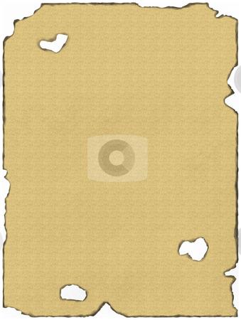 Parchment Paper stock photo, Old burnt parchment by Matt Baker