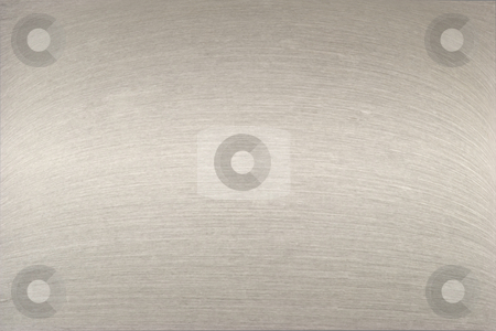 Stainless steel stock photo, A macro of a warped piece of brushed chrome with horizontal lighting by Matt Baker