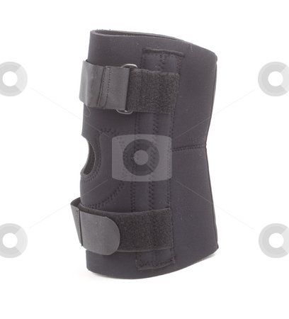 Knee Brace stock photo, A isolated image of a knee brace by Matt Baker