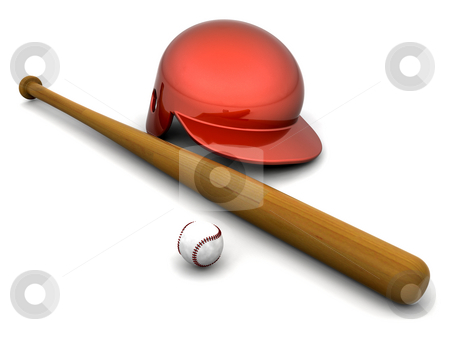 Baseball stock photo, Baseball equipment by Kirsty Pargeter