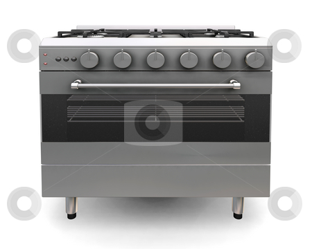 Oven stock photo, 3D render of an oven by Kirsty Pargeter