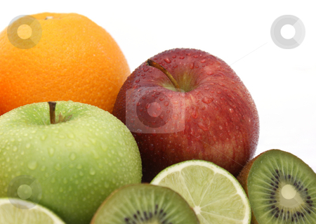 Fresh fruit stock photo, Display of fresh fruit by Kirsty Pargeter
