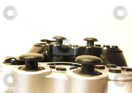 Game Controller Close up stock photo,  by Kirsty Pargeter