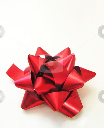 Present Bow stock photo,  by Kirsty Pargeter