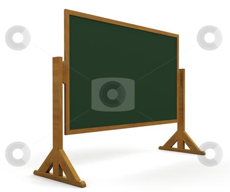 Blackboard stock photo, 3D render of a blackboard by Kirsty Pargeter
