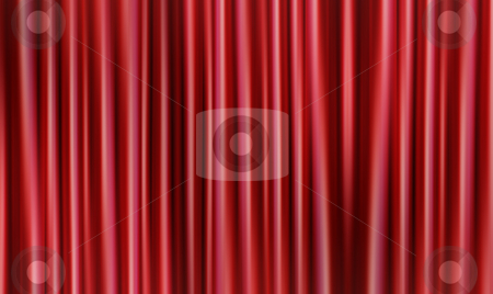 Abstract curtains stock photo, Abstract curtain background by Kirsty Pargeter
