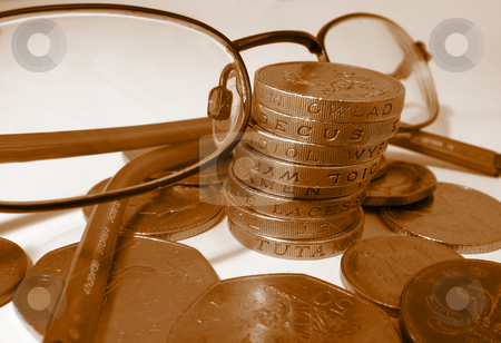 Seeing Money stock photo,  by Kirsty Pargeter