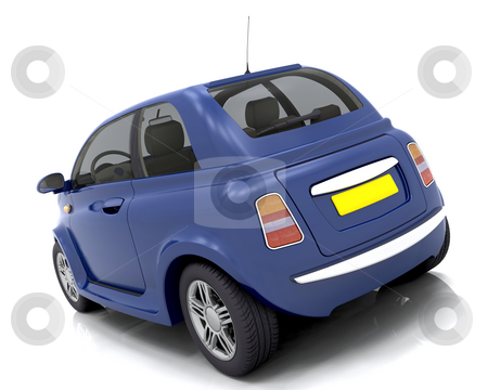 Car stock photo, 3D render of a car by Kirsty Pargeter