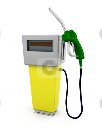 Fuel pump stock photo, 3D render of a fuel pump by Kirsty Pargeter