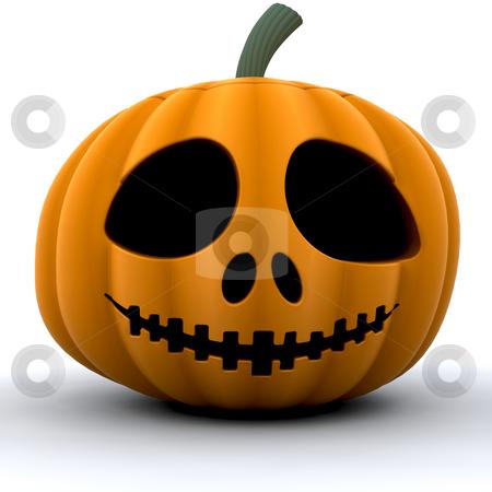 Pumpkin stock photo, 3D render of a pumpkin by Kirsty Pargeter