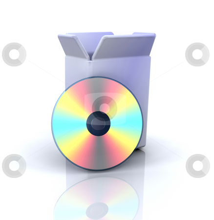 Software icon stock photo, 3D computer icon for software by Kirsty Pargeter