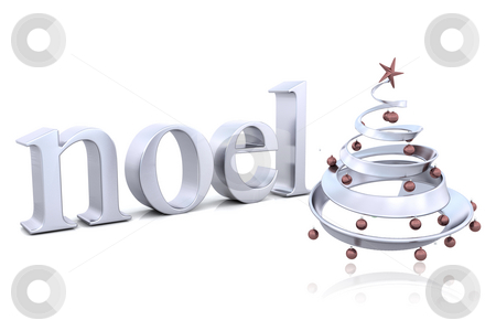 Christmas background stock photo, Christmas background with tree by Kirsty Pargeter