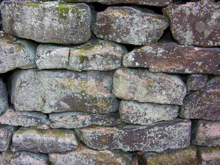 Stone Wall Background stock photo,  by Kirsty Pargeter