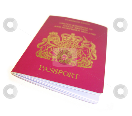 Passport on White stock photo,  by Kirsty Pargeter