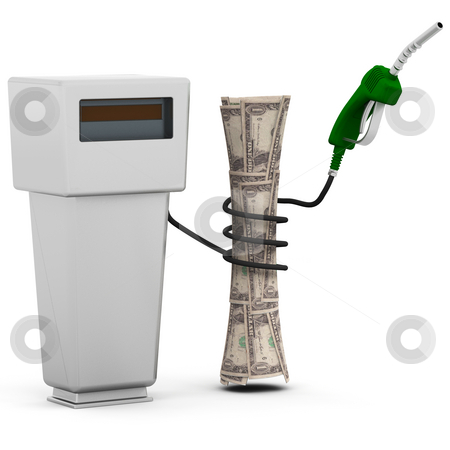 Rising fuel prices stock photo, 3D conceptual image depicting rising fuel prices by Kirsty Pargeter