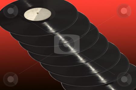 Records stock photo,  by Fabio Alcini