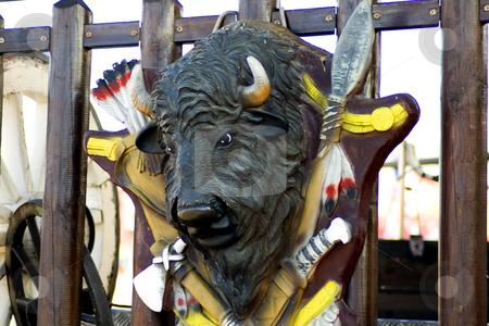 Fake buffalo stock photo,  by Fabio Alcini