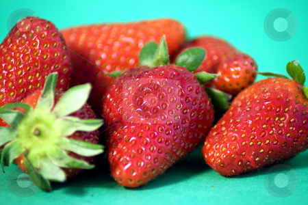Strawberries stock photo,  by Fabio Alcini