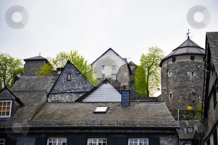 Monschau Germany stock photo, Buildings in Monschau Germany by Jaime Pharr
