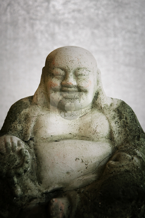 Buddha Statue stock photo, Buddha statue with big belly by Scott Griessel