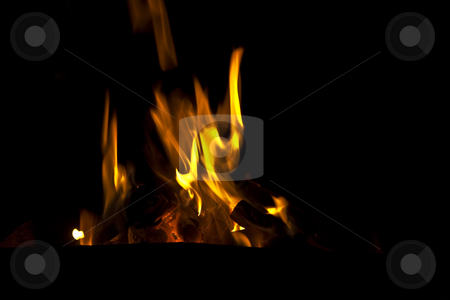 Flames stock photo,  by Carlo Grossmann
