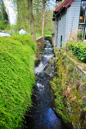 Monschau  stock photo, Stream in Monschau Germany by Jaime Pharr