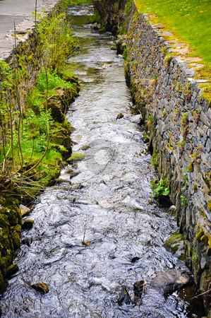 Monschau  stock photo, Stream in Monschau Germany by Jaime Pharr
