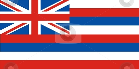 Hawaii Flag stock photo, Very large 2d illustration of Hawaii flag by Tudor Antonel adrian