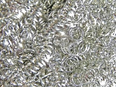 Metallic filings stock photo, Background from metallic filings by Sergej Razvodovskij