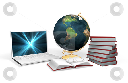 Knowledge stock photo, 3D rendered conceptual image depicting knowledge and learning by Kirsty Pargeter