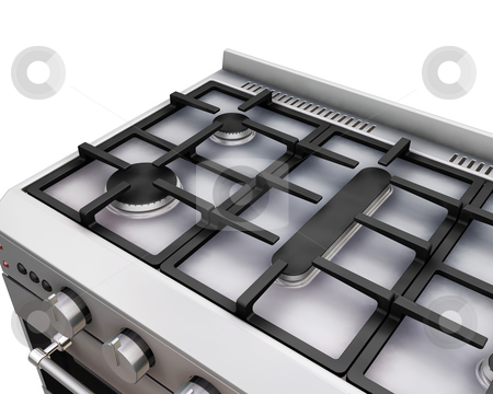 Oven stock photo, 3D render of a close up of an oven by Kirsty Pargeter