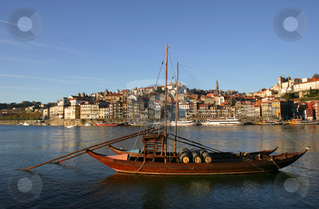 Oporto stock photo, Typical boat at oporto city on the north of portugal by Rui Vale de Sousa