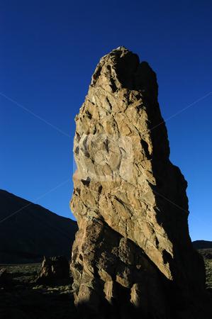 The rock stock photo, Big rock at tenerife mountains by Rui Vale de Sousa