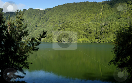 Lake stock photo, Lake of furnas at sao miguel island of azores by Rui Vale de Sousa