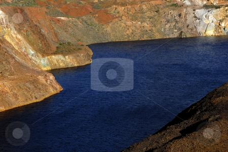 Mine stock photo, Old mine hole in alentejo, the south of portugal by Rui Vale de Sousa