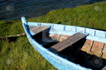Boat stock photo, Old boat in land by Rui Vale de Sousa