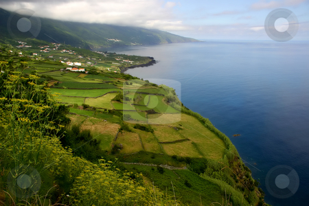 Coastal stock photo, Azores coastal view at sao miguel island by Rui Vale de Sousa