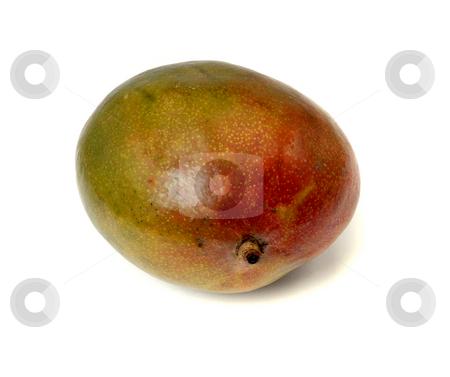 Mango stock photo, The mango fruit isolated on white background by Rui Vale de Sousa