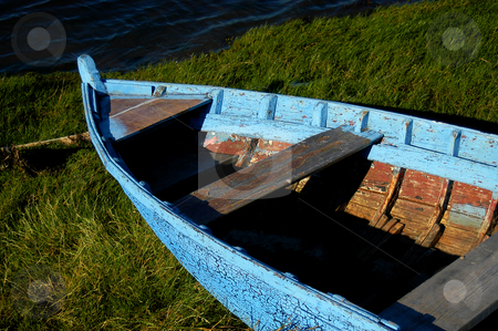 Boat stock photo, Boat in land by Rui Vale de Sousa