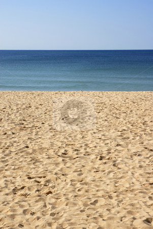 Beach stock photo, Beach sand in the south of portugal by Rui Vale de Sousa