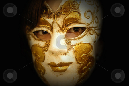 Mask stock photo, Woman mask by Rui Vale de Sousa