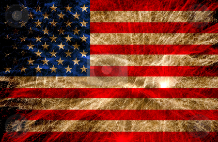 Usa stock photo, United states of america flag illustration, computer generated by Rui Vale de Sousa