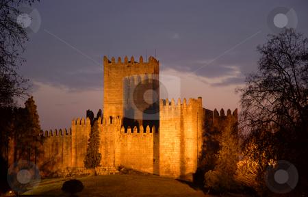 Castle stock photo, Castle of Guimaraes in the north of Portugal by Rui Vale de Sousa